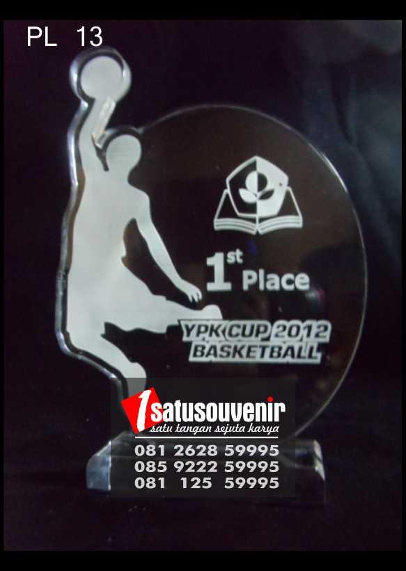 Plakat Laser Grafir YPK Cup Basketball