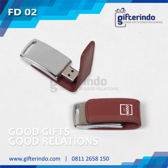 Flashdisk Kulit custom